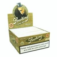 Smoking Rolling Paper Organic King Size x 50 Booklets