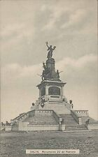 ARGENTINA SALTA MONUMENTO 20 DE FEBRERO KAPELUSZ 1826