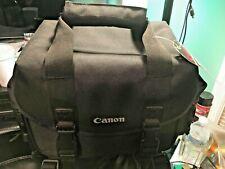 Canon Gadget Bag 2400 Camera Bag Carry Case Shoulder Bag Black  DSLR