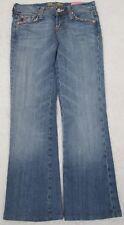 """Miss Me Jeans Pants Denim 25 Cotton Le Lotus Bleu Ultra Luxe Peace 26"""" X 28"""""""