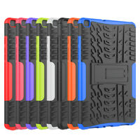 "Hybrid Rugged Case Stand Cover For Samsung Galaxy Tab A 8.0"" 2019 SM-T290 T295"