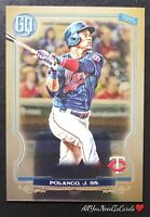 Jorge Polanco 2020 Topps Gypsy Queen SP Chrome Minnesota Twins Baseball Card #95