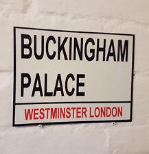 Londres signo calle-el Palacio de Buckingham-Metal Aluminio Signo