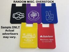 2X RANDOM LOGO/Color 3M Adhesive SILICONE Credit Card Pocket Pouch NO TRACKING