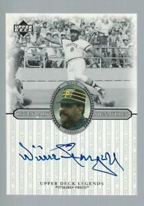 2000 Upper Deck Legends Willie Stargell Autograph