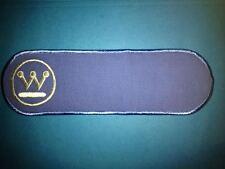 Rare Westinghouse Electric Employee Uniform Jacket Patch Crest