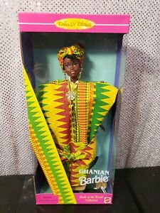 GHANIAN BARBIE DOTW DOLLS OF THE WORLD 1996 COLLECTOR EDITION MATTEL 15303 NRFB