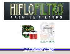 FILTRO OLIO HIFLO HF116 MOTO Honda CRF R - 250 cc - anni: 2004 - 2009