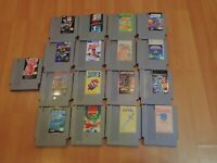 NES 17 Game Lot Bundle All CLEANED, TESTED & WORKING Great Nintendo Games Retro