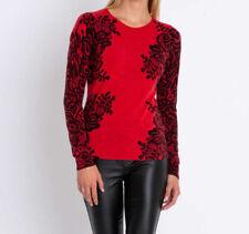 """2.519 Designer Pullover mit Cashmere-Feeling """"rot"""" Gr. 42"""