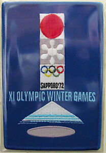 1972 WINTER OLYMPICS XI ~ Sapporo, Japan ~ OLYMPIC GAMES PATCH ~ Willabee & Ward