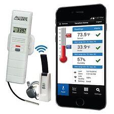 926-25102-WGB La Crosse Alerts Mobile™ Temperature & Humidity Monitor & Alert