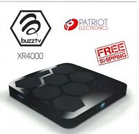 BuzzTV XR 4000 Android 9 IPTV OTT set-top STB HD 4K TV Media Player Box XR4000