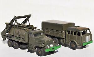 Dinky Toys Camion Berliet n°80D & Supertoys Brockway n°884