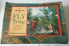 """The Art Of Fly Tying - An Angler'S Complete Handbook And Kit """"New"""""""