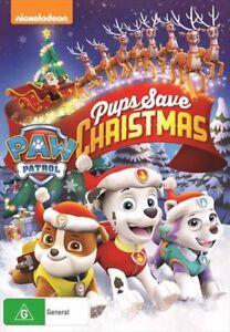Paw Patrol - Pups Save Christmas DVD