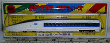 N Gauge Japan Diecast 1/180 Scale Train No.46 JR500 Bullet Train