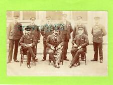 Chief Officers of Metropolitan Fire Brigade 1902 London RP pc used 1906 Ref C108