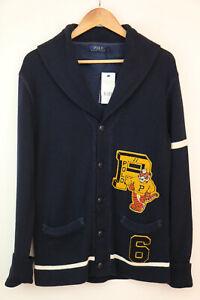 Polo Ralph Lauren Cotton Mens Cardigan Size XS