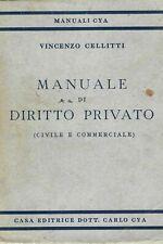 Manuale di diritto privato (civile e commerciale) - Cellitti - manuale cya -