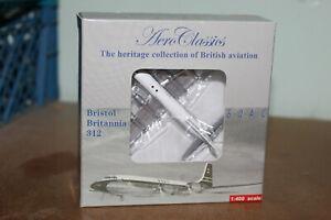 AERO CLASSICS 1:400 BRISTOL BRITANNIA 312 - BOAC G-AOVT