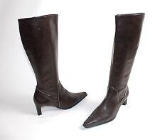 Paul Green Damenschuhe Kniehohe Damen-Stiefel mit Blockabsatz