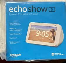 Amazon Echo Show 5 - WHITE- Brand new