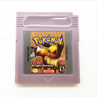 Pokemon Brown Version Version Nintendo Game Boy Color Gbc Cartridge Console