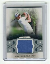 New listing MAVERICK MCNEALY 2021 UD ARTIFACTS GOLF DF-MM BIG DRIVE FRAGMENTS RELIC