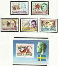 Timbres Personnages Niger 411/5 BF18 ** lot 8919