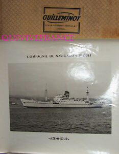 Gran Foto Cnp Compañía Navegación Paquete - Azemmour Transbordador 1950-1969