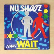 "Nu Shooz 'I Can't Wait' 1986 Vinyl Single. 45 7"". A9446. Atlantic Records."
