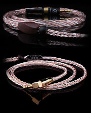 Luxiry 7N/8Core OCC Sliver Upgrade Earphone Cable se535/tf10/ie8/ue900/um3x more