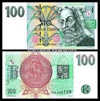 CZECH REPUBLIC 100 KORUN 1997 , UNC , P-18