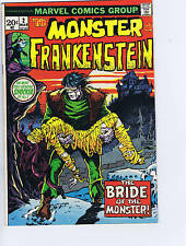 Monster of Frankenstein #2 Marvel 1973