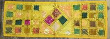 Indian Patchwork  Runner wall hanging handmade embroiderd tribal Ethnic Sale