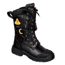 Chaussure bottine de securite ANTI FEU ANTI CHALEUR Cuir bovin POMPIER 41