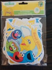 New! Sesame Street Wall Accents 15 pack!