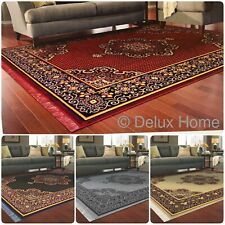 New Oriental Design Aswan Area Rugs Soft Egyptian Carpets Small and Large Sizes