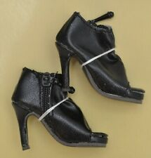 Ellowyne Wilde SHIRRED STEP SHOES in BLACK Wilde Imagination NEW