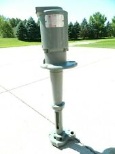 "Gusher UD25-XL  immersion coolant pump  3/4 hp  208-230 / 460 volt   1"" npt"