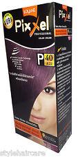 Hair COLOR Permanent Hair Cream Dye Punk Rock Glam Black Current Purple Brown