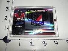 Alge Crumpler / 2007 ABSOLUTE 3 color JSY SP/50 Atlanta Falcons - North Carolina