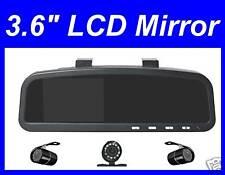 "REARVIEW MIRROR 3.6"" TFT monitor Wireless Backup Camera"
