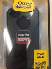 """OtterBox Commuter Series for iPhone 4 & 4S (Black) with """"WATCH ESPN"""" Logo"""