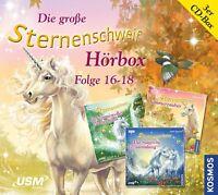 STERNENSCHWEIF - HÖRBOX FOLGE 16-18 (BOX-SET) (3CDs: Folge 16,17 und 18) NEU