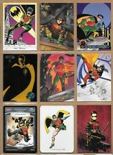 Robin, DC card lot