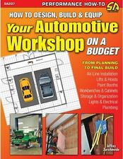 SA207P How To Design And Build Your Automotive Workshop Garage Lifts Paint Booth