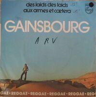 """Gainsbourg - Des Laids des Laids / Aux Armes et Caetera - Vinyl 7"""" 45T (Single)"""