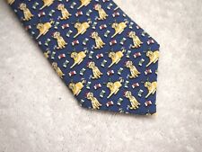 Vineyard Vines Golden Retriever Pattern Boys' Necktie NWT $49.50 Made in USA
